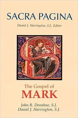 Gospel of Mark: 2 (Sacra Pagina)