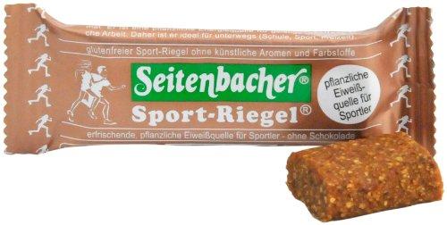 Seitenbacher Sport-Riegel, Eiweißquelle, 12er Pack (12 x 50 g Packung)