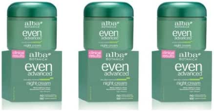 Alba Even Advanced - Night Cream 2oz(Pack of 3)