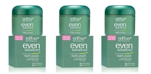 Alba Even Advanced – Night Cream 2oz Pack of 3