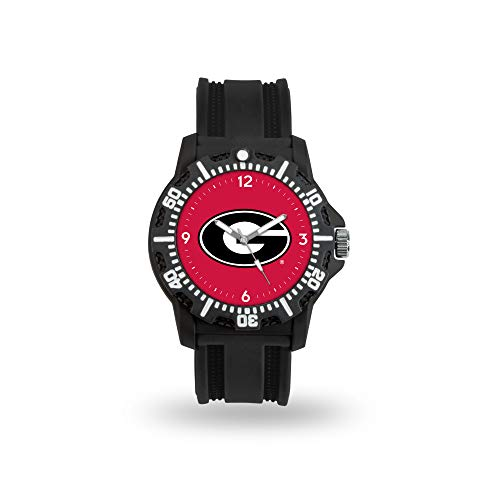 Glass Team Under Logo (Rico Industries NCAA Georgia Bulldogs Model Three Watch)