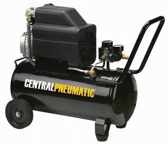 Central Pneumatic 2 HP, 8 Gallon, 125 PSI Portable Air Compressor