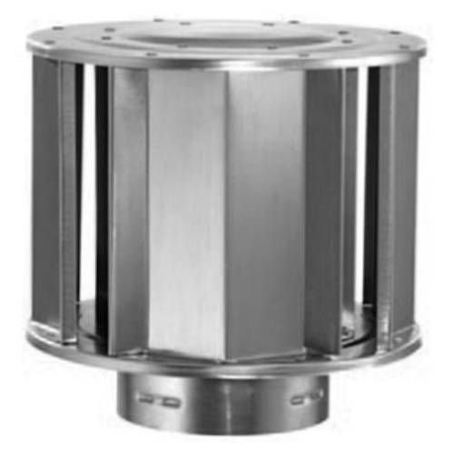 Aluminum High-Wind Cap - 10 inch by Round Gas Vent
