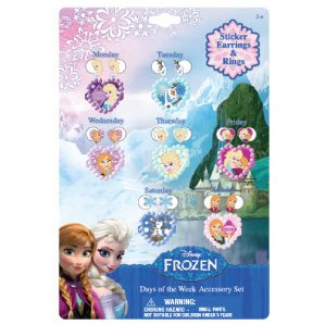 Disney Frozen Earring Jewelry Playset