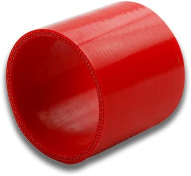 1.25 to 1.375 Red Straight 3-Ply Silicone Hose for Turbo//Intercooler//Intake Piping