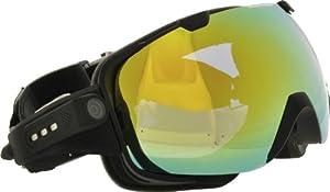 Rollei Ski Goggles - Skibrille mit integrierter Kamera, Full HD und Mikrofon...