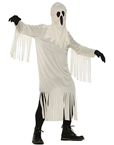 Forum Men's Classic Sheet-Style Ghost, White, STD - Sheet Ghost Costumes