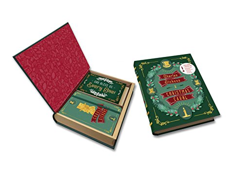 Charles Dickens: A Christmas Carol Deluxe Note Card Set (With Keepsake Book (Charles Dickens Christmas Set)