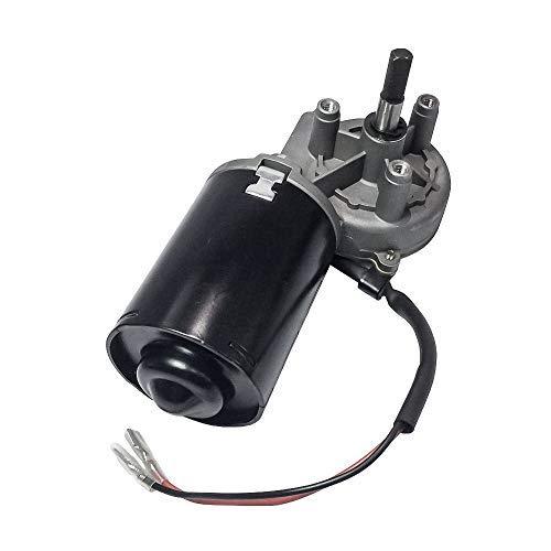 Motor de engranaje helicoidal eléctrico, 12 - 24 V CC, ángulo recto conmutable, con engranaje izquierdo para puerta de garaje, 24V-30W, 50 rpm-R-LS, 0