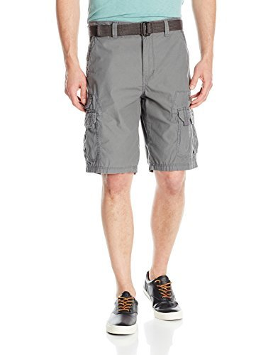 Unionbay Mens Bailey Belted Cargo Short