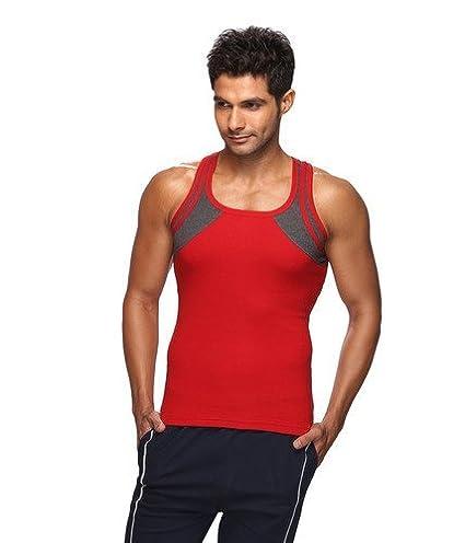 62d2ac871c128 Lux Gen-X 7708 Men s Cotton Vest (Colour-Assorted)(Pack of 2 ...
