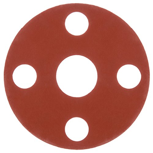 Face Flange - USA Sealing Inc-Full Face Silicone Flange Gasket for 2