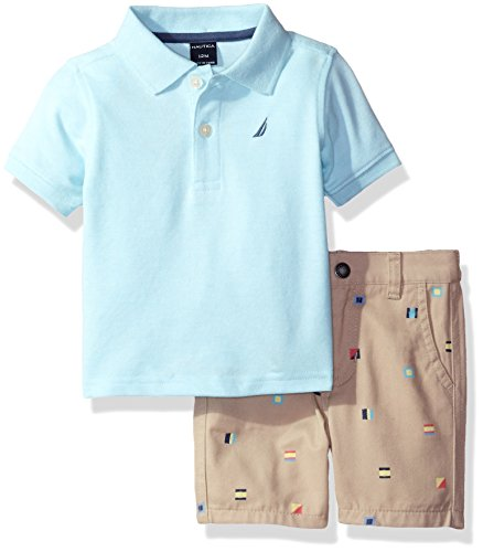 nautica-baby-boys-solid-polo-with-pattern-pull-on-short-set