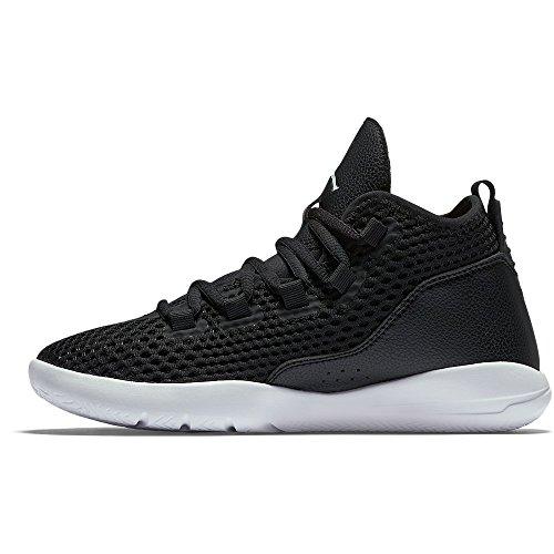 Nike Black / White-Black-White, Zapatillas de Baloncesto para Niños Negro (Black / White-Black-White)