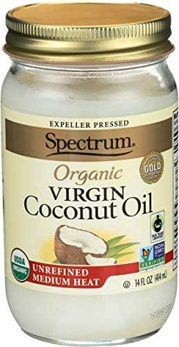 Coconut Oil: Spectrum Essentials Organic Unrefined Virgin Coconut Oil