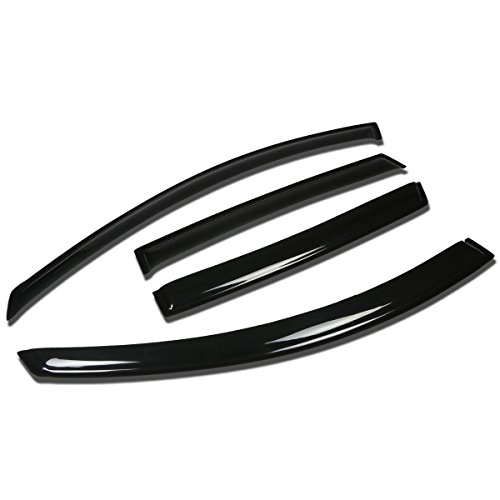 - For Saturn Vue 4pcs Tape-On Window Visor Deflector Rain Guard