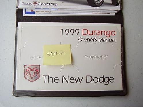 1999 dodge durango owners manual amazon com books rh amazon com 2003 Dodge Durango 1998 Dodge Durango