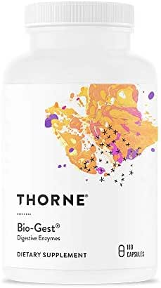 Thorne Research - Bio-Gest - Blend of Digestive Enzymes to Aid Digestion - 180 Capsules