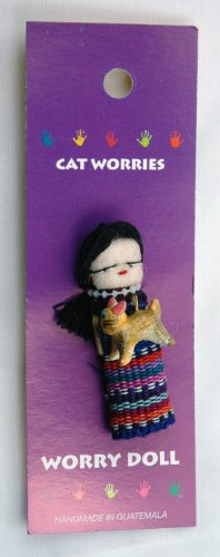Buy new world artisans cat personal worry doll