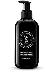 V76 by Vaughn ENERGY BODY WASH Purifying, Detoxifying & Hydrating Formula for Men, 8 Fl Oz