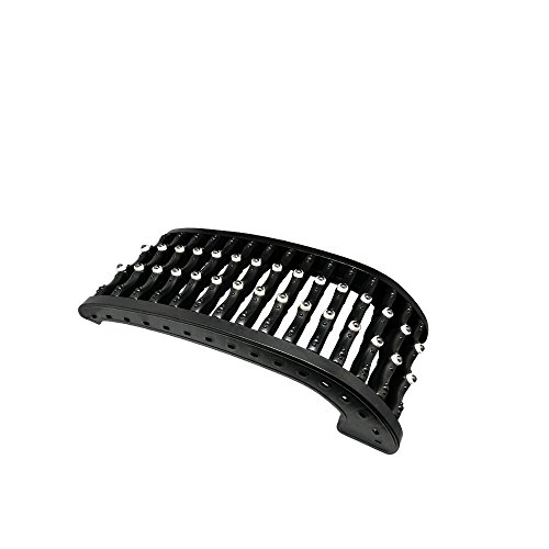 upgraded ! Stretch Mate Orthopedic Back Stretcher Built in 30 Magnetic Flexible Balls to Stimulate Acupuncture Points of Body (black) by cybernova