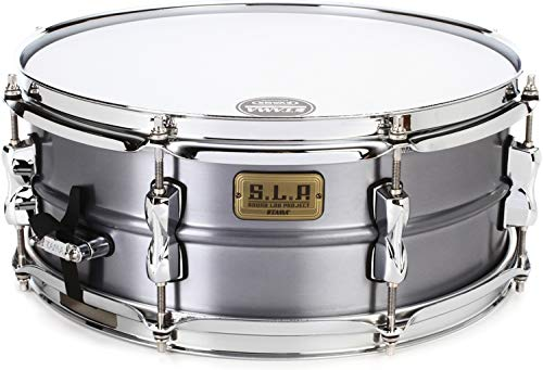 Tama S.L.P. Classic Dry Aluminum Snare Drum - 5.5 Inches X 14 Inches by Tama