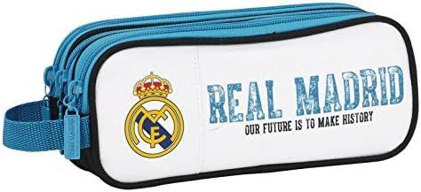 Real Madrid - Estuche portatodo Triple (SAFTA 811754635): Amazon.es: Ropa y accesorios