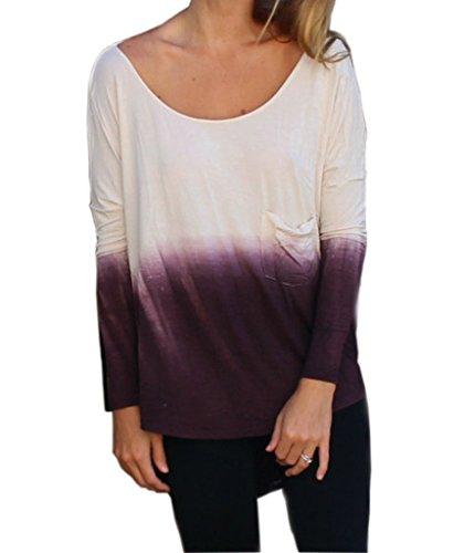 Mansy Womens Fashion Backless T shirt