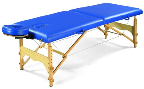 3B Scientific W60601B Blue Basic Portable Massage Table, ...