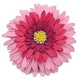 Contempo Lifestyles, Flower Throw Pillow | 3D Flower Pillow | Daisy Flower Pillow| Light Weight | Decorative Pillow | Hand-Made décor | Multiple Colors (Fuchsia)