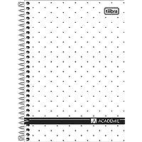 Caderno Espiral Universitário 1 Matéria 80 Folhas Academie Tilibra