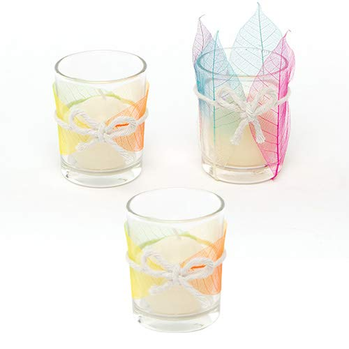 (Baker Ross Glass Votive Candle Holders (Box of 6) )