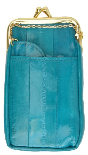 - Eel skin Soft Leather Cigarette Case with Lighter Holder by Marshal