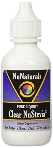 NuNaturals Pure Liquid Clear Stevia, 2 Ounces