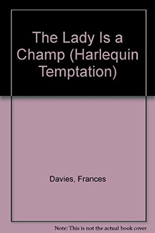 book cover of The Lady Is a Champ