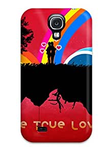Anti-scratch And Shatterproof The True Love Phone Case For Galaxy S4/ High Quality Tpu Case