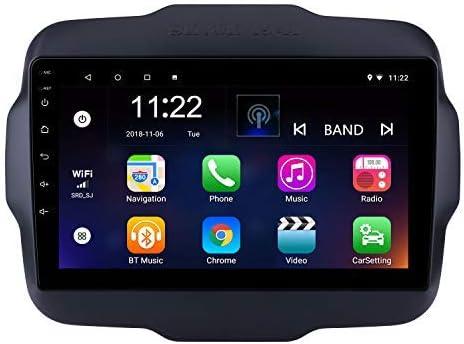 9 Zoll Android 8 1 Gps Radio Für Jeep Renegade 2016 Mit Bluetooth Usb Wifi Mirror Link Unterstützung Dvr Obd Ii Mirror Link Navigation