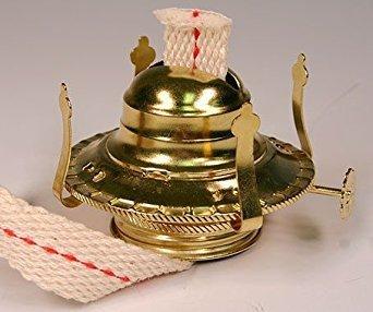 OIL LAMP BURNER / CHIMNEY HOLDERS Lamplight Farms Style (M999) LOT OF 5 NEW!