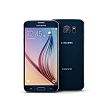 Samsung Galaxy S6 Unlocked GSM 4G LTE Smartphone - Black Sapphire (Certified Refurbished)