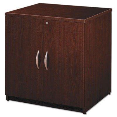Series C Collection 30W Storage Cabinet in Mahogany by Bush Business Furniture