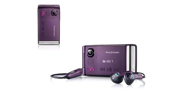 Amazon.com: Sony Ericsson W380 a eléctrico purple-unlocked ...
