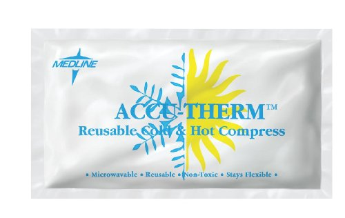 Medline MDS138020 Accu-Therm Latex Free Hot/Cold Gel Pack (Pack of 16)