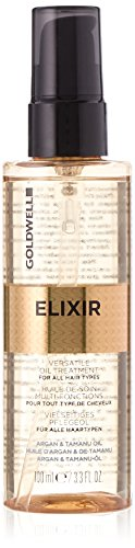 Goldwell Elixir Versatile Oil Treatment For All Hair Types Weightless Intense Shine Anti-Frizz 3.4oz -