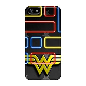 High Quality Wonder Woman Logo Cases For Iphone 5/5s / Perfect Cases