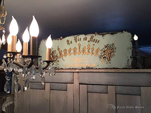 MarthaFox Chocolatier Laduree Inspired la Vie en Rose French Wood Sign Patisserie confiserie Paris France Cottage Shabby Chic Pastries Desert
