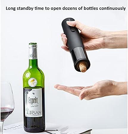 Sacacorchos Vino Sacacorchos eléctrico automático para Vino sacacorchos clásico de Acero Inoxidable,