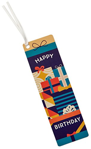 - Amazon.com Birthday Bookmark Gift Card - $25 - Free One-Day Shipping