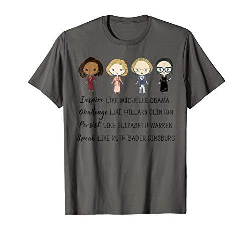 - Inspire Like Michelle Obama T Shirt Gift for Women Men