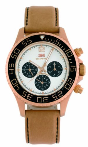 3H-Womens-CH2N-Tintangraph-Titanium-Pink-Gold-PVD-Chronograph-Interchangeable-Band-Watch