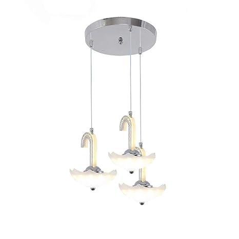 FDA3H / Lámpara colgante moderna Lámpara LED 3 Llama ...